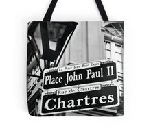 New Orleans Street Sign Tote Bag