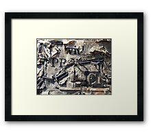 wit Framed Print