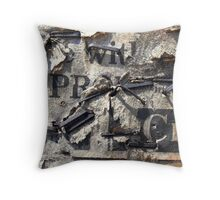 wit Throw Pillow