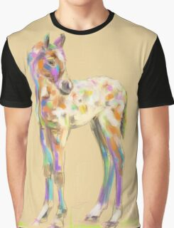 Foal paint Graphic T-Shirt