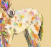 Foal paint Sticker