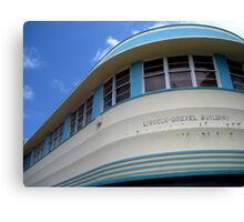Art-Deco South Beach Canvas Print