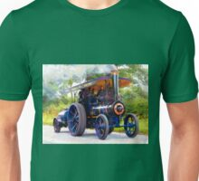 Steam Traction Engine at Jodrell Bank, Cheshire Unisex T-Shirt