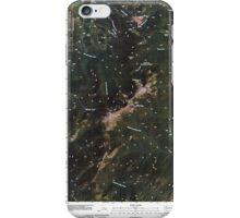 USGS Topo Map Washington State WA Abercrombie Mountain 20110428 TM iPhone Case/Skin