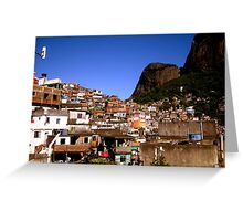 Fantastic Favela Greeting Card