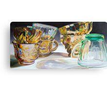 Seven Cups Canvas Print