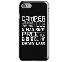 Shooter Quotes - Call Of Duty - Counter Strike iPhone Case/Skin