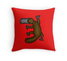 Platypus Throw Pillow