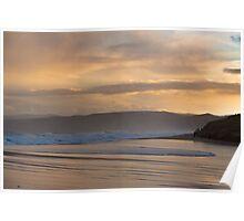 Dusk, Aireys Inlet Beach Poster