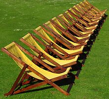 Arty Farty Deckchairs by wiggyofipswich