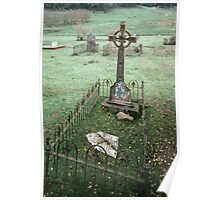 Grave of miner killed in rock fall Buckland cemetary 19830531 0007 Poster