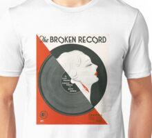 THE BROKEN RECORD (vintage illustration) Unisex T-Shirt