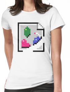 BROKEN IMAGE LINK Womens Fitted T-Shirt