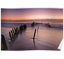 SS Dicky Ship Wreck Poster