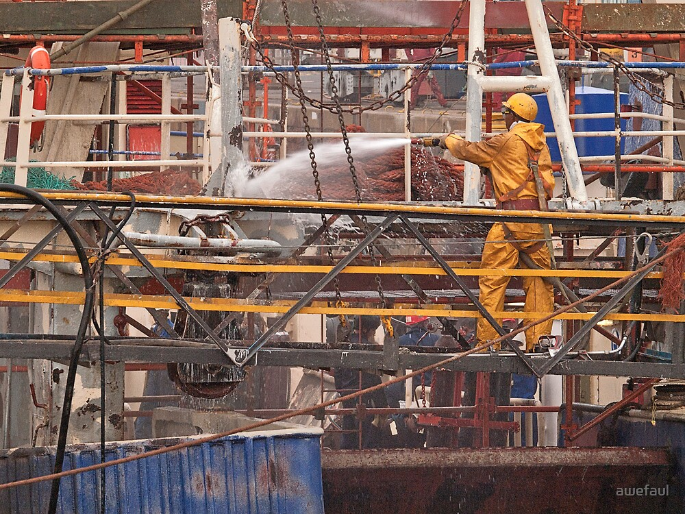 Work in the dry-dock by awefaul