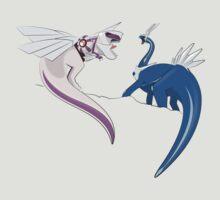 Pokesaurs - Creation Duo by trekvix
