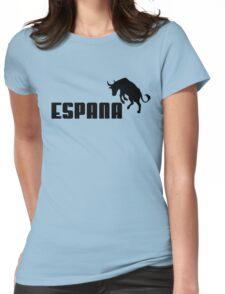 espana bull, puma style Womens Fitted T-Shirt