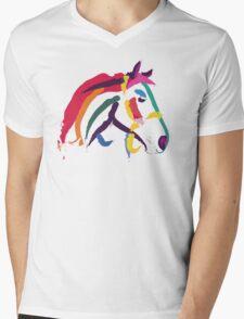 Cool t shirt colour me strong Mens V-Neck T-Shirt