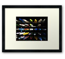 Stacked Framed Print