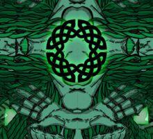 Celtic Wheel of Pan Sticker