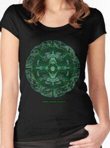 Celtic Wheel of Pan Women's Fitted Scoop T-Shirt