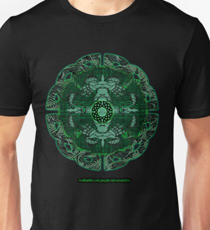 Celtic Wheel of Pan Unisex T-Shirt