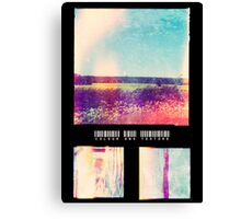 Colour and Texture Canvas Print