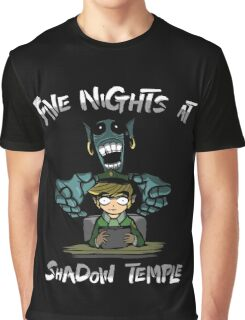 Legend Of Zelda - Five Nights At Shadow Temple Graphic T-Shirt