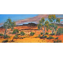 Red Country Photographic Print