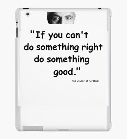 Wisdom of Rev Book iPad Case/Skin
