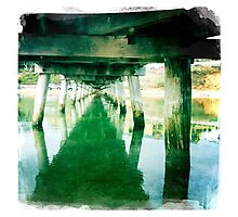 Under the jetty Photographic Print