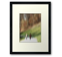 Two Walkers Framed Print