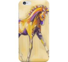 Foal colour and grace iPhone Case/Skin
