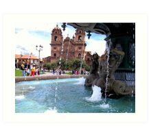 Waters of Cusco Art Print