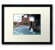 Waters of Cusco Framed Print