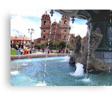Waters of Cusco Metal Print