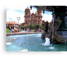 Waters of Cusco Canvas Print