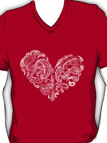 Paisley Heart T-Shirt