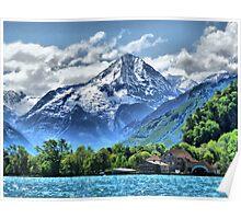 Lake Lucerne. Poster