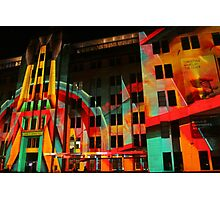 Psychedelic Industrial Museum, Sydney Photographic Print