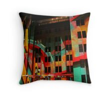 Psychedelic Industrial Museum, Sydney Throw Pillow