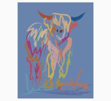 Scottish Highlander Cow One Piece - Short Sleeve
