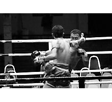 Thai Boxing Photographic Print