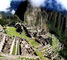 A Morning at Machu Picchu by dher5