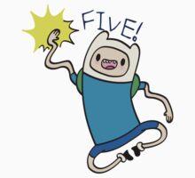 Finn High Five - Part 2 One Piece - Long Sleeve
