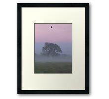 Misty Morning (1), Cheshire Framed Print