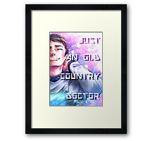 Star Trek - Old Country Doctor Framed Print