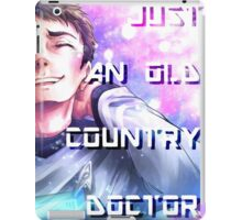 Star Trek - Old Country Doctor iPad Case/Skin