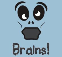 Zombie Brains by 'Chillee Wilson' Kids Clothes