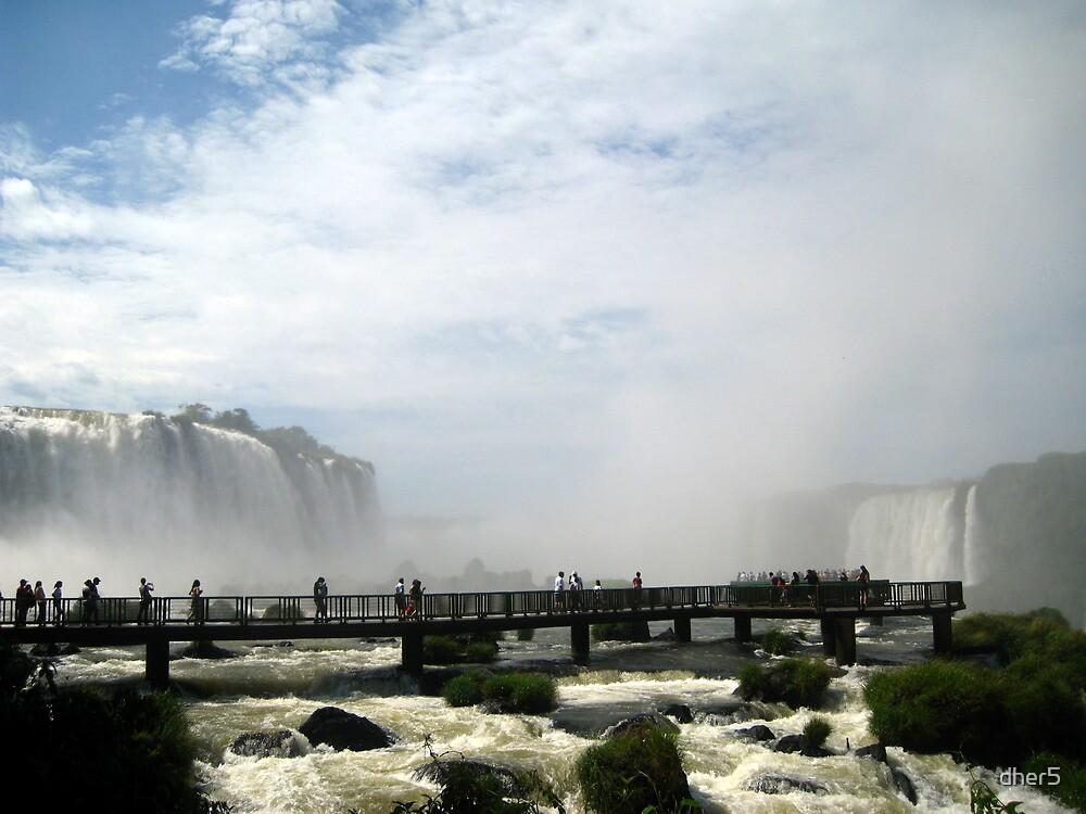 Iguazu Falls by dher5